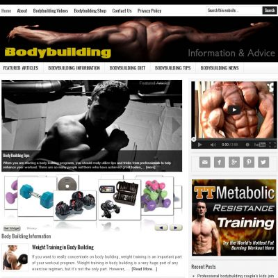 Bodybuilding Tips Blog