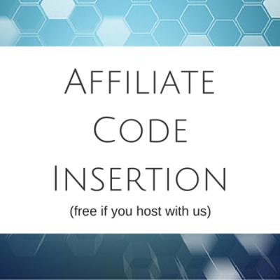 Affiliate Code Insertion 2
