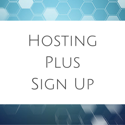 Hosting Plus Sign Up