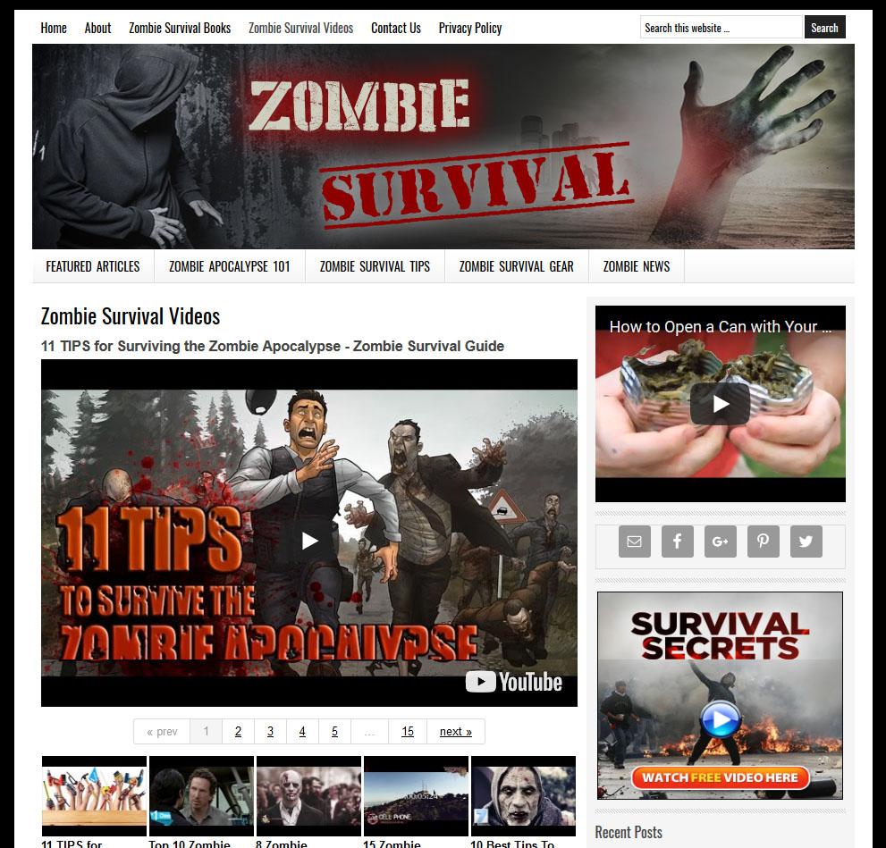 zombie site