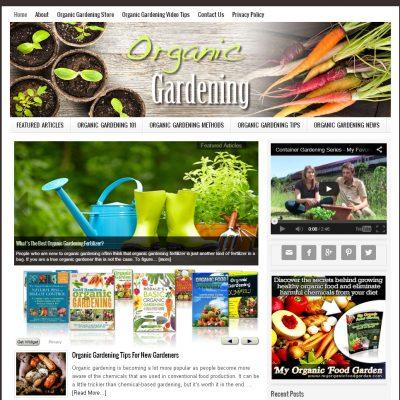 Organic Gardening Website
