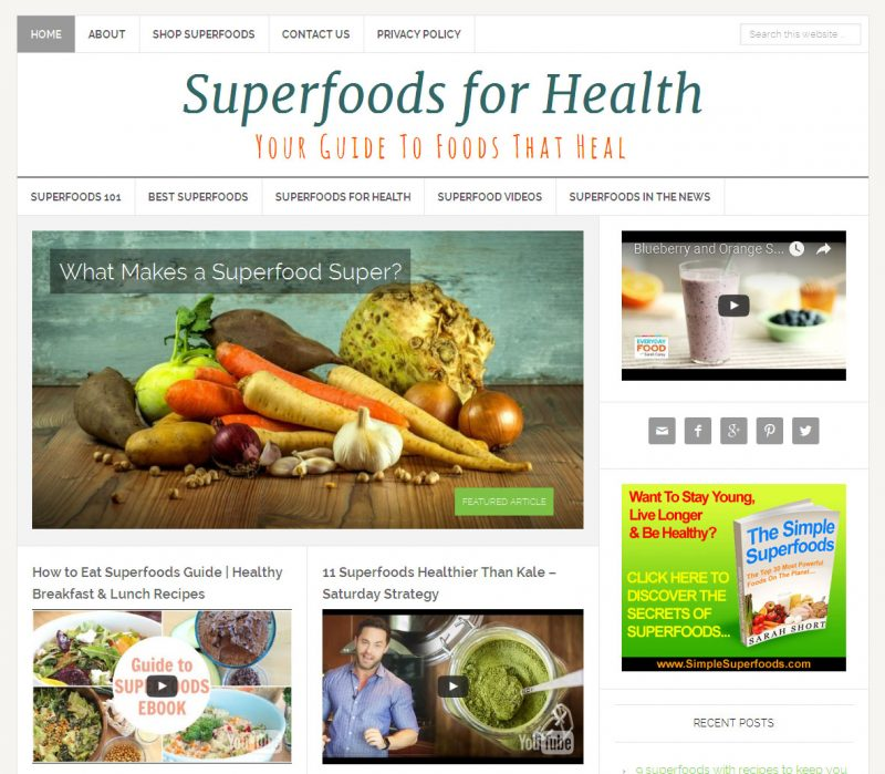 Superfoods-Website-for-Sale