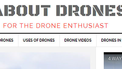 All About Drones Blog Design – Mobile Responsive