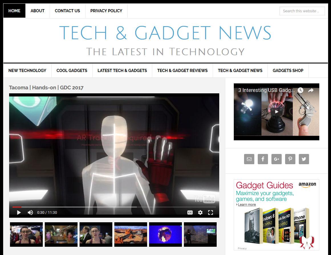 tech gadgets website amaraq websites