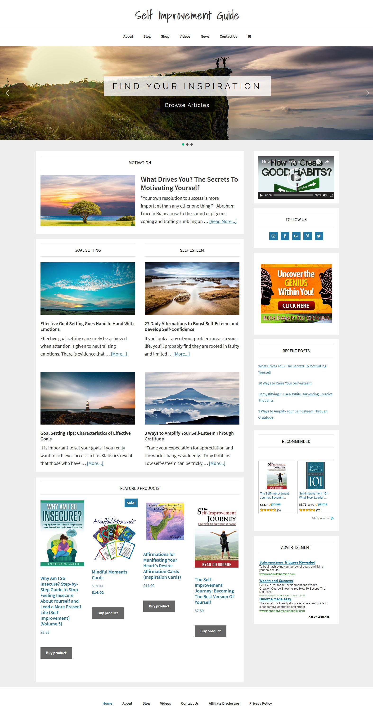 Self Improvement Store Amaraq Websites