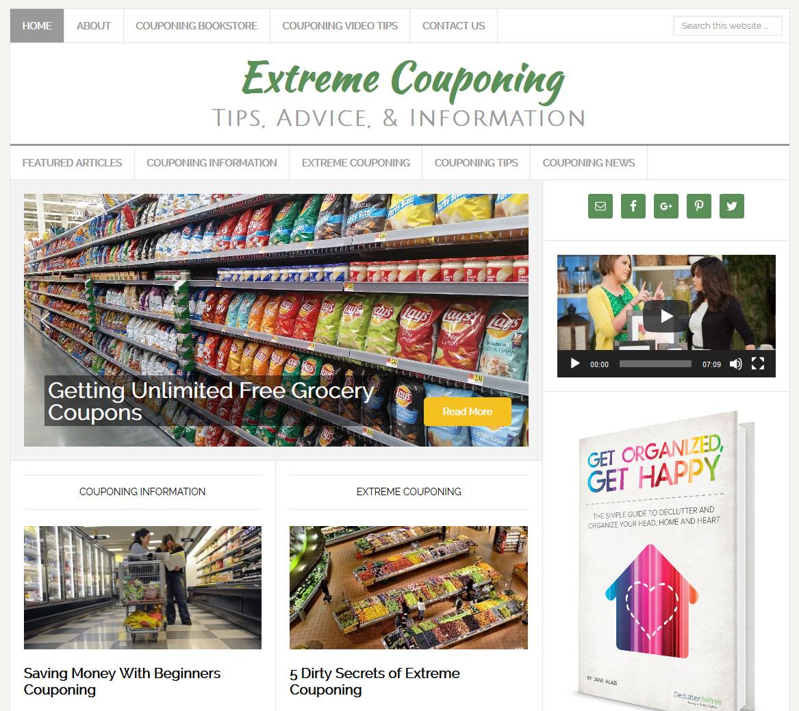 Extreme Couponing Website Amaraq Websites
