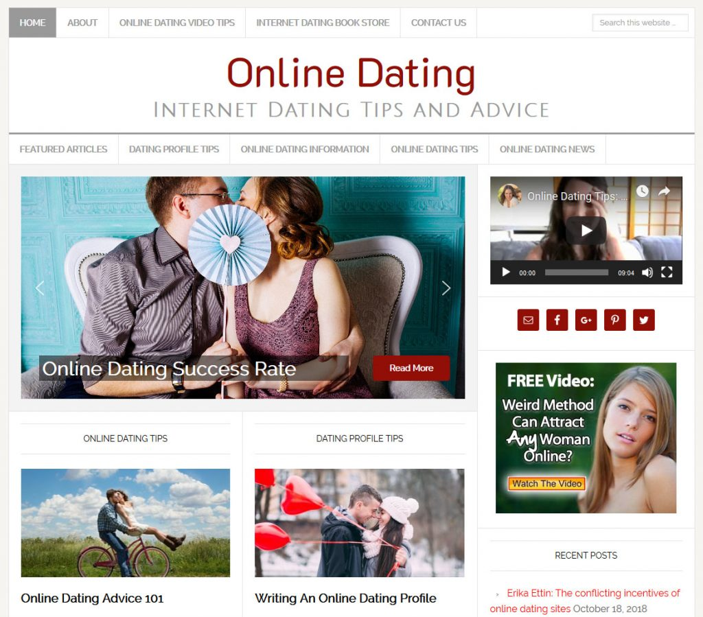 Articles against online dating