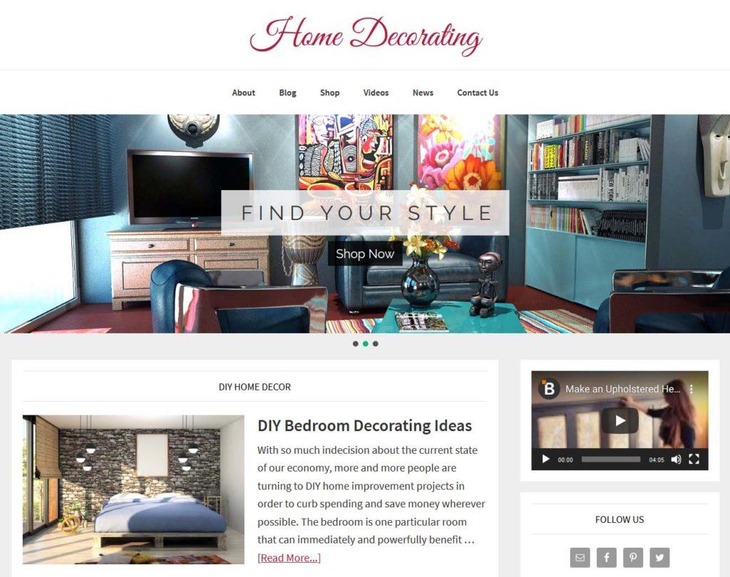Home Decorating Website | Amaraq Websites
