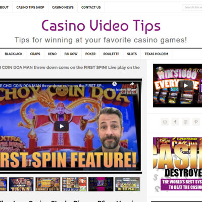 Casino Tips Website